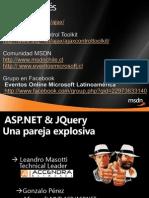 ASP.net & JQuery