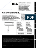 Air Conditioning Unit - Toshiba