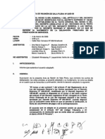 Acta de Reunldn de Sala Plena n 2005-06
