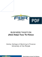 Project on Pakistan Tax System
