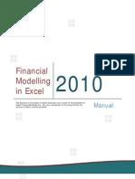 Financial Modelling in Excel
