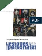 (INMLCF) Guía práctica para el dictamen de LESIONES PERSONALES.