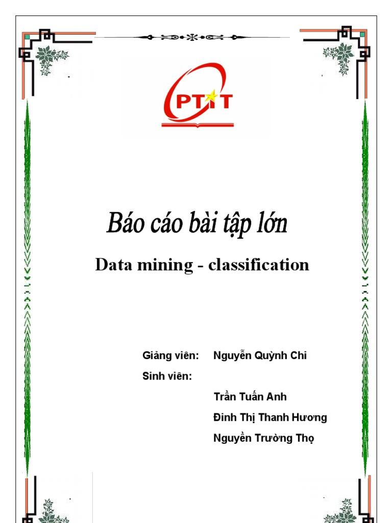 data mining klassifikation