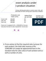 Example Cost-Volume-Profit (CVP) Analysis
