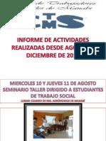 COLEGIO DE TRABAJADORES SOCIALES DE MANABÍ