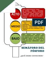 SEMAFORO ALIMENTOS FOSFORO