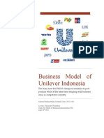 Business Model of Unilever Indonesia