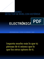 1. Comparador - Detector de Nivel