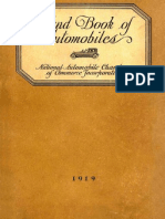 Hand Book of Automobiles, 1919