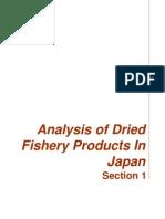 Consumo de Pescado Seco Japon