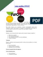 Como fazer uma análise SWOT