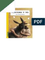 Platero y yo es una narración lírica de Juan Ramón Jiménez que recrea poéticamente la vida y muerte del burro Platero