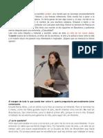 Entrevista a Laia Fàbregas