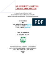 Transient Stability Analysis of Multi-machine System
