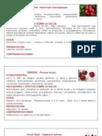 Fichas de Frutas Por. II