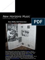 New Horizons Music - Interview with composer/keyboardist Rory Ridley-Duff