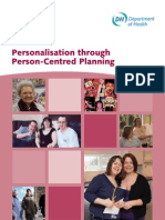 53367000 PersonalisatIon Through Person Centred Planning