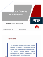 01 Coverage and Capacity of GSM System