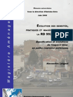 """Mémoire universitaire - Le """"Petit-Colombes"""" demain, un territoire central ?"""