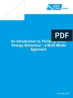 Intro to Thinking About Energy Behaviours