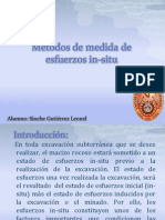 Tecnicas de Medicion de Esfuerzos in-situ PDF