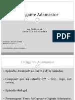 O Gigante Adamastor