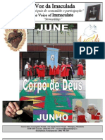 JUNE - Imaculada Conceição Boletim