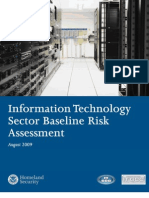 IT Sector Risk Assessment Report Final