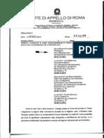 Lettera Presidente Corte d'Appello Santacroce
