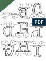 Alphabet Train Patterns