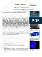 Ole Miss Project 63888 Pub 00 - Factsheet on Research Group Profile Frorm Nanostructure to Infrastructure (12!09!2008)