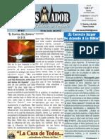 """2012-06-10 """"El Conquistador"""" Boletín Semanal de La Casa de Todos"""