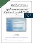 Déploiement automatisé de Seven via le WAIK (tuto de A à Z)