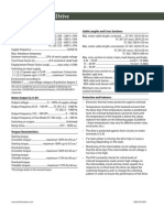 Automation Drive General Specs