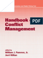 Ebooksclub.org Handbook of Conflict Management Public Administration and Public Policy Vol 104 Public Administration and Public Policy