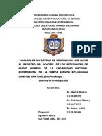 REPÚBLICA BOLIVARIANA DE VENEZUELAproyecto