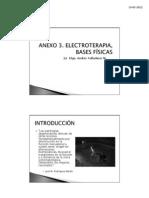 ANEXOS 3, ELECTROTERAPIA, BASES FÍSICAS 2012 (1)