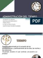 Administracion Dl Tiempo