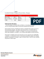 Reporte de Falla QSL9 en ST1030