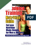 Turbulence Training Nutrition Bonus Chris Mohr PhD