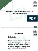 Prevención de riesgos y uso de extintores isl