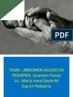 Sesion 7.Abdomen Agudo Abdominal Pregrado 15-5-2012.Pptx Pawert