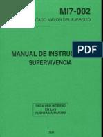 [Ejército Español] MI7-002 Manual de Instrucción de Supervivencia