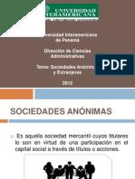 LAS SOCIEDADES ANÓNIMAS EXTRANJERAS