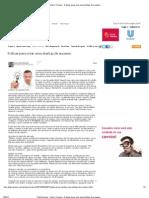 ClickCarreira · Quero Crescer · 8 dicas para criar uma startup de sucesso