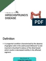 Hirschsprung Disease Farie