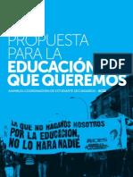 Propuesta ACES- La educacón que queremos
