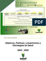 Politicas Nacionales Salud-Panama 2003-2009[1]