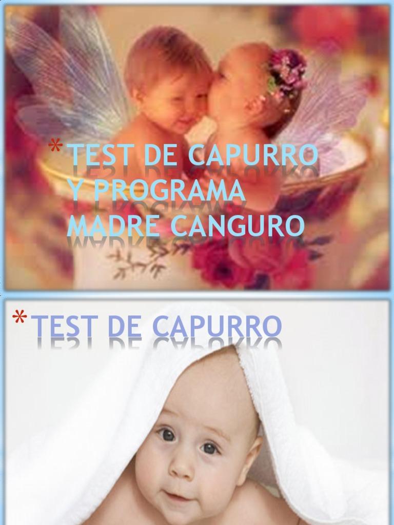 Test de capurro en el recien nacido pdf gratis