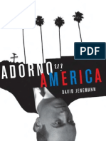 David Jenemann - Adorno in America